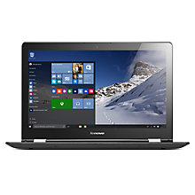 "Buy Lenovo Yoga 500 Convertible Laptop, Intel Core i7, 8GB RAM, 256B SSD, 15.6"" Touch Screen Online at johnlewis.com"
