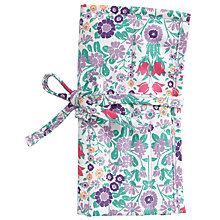 Buy John Lewis Daisy Chain Crochet Roll and Hooks, Purple Online at johnlewis.com