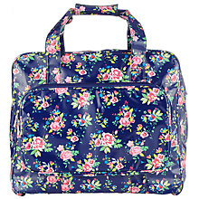 Buy John Lewis Classic Floral Print Sewing Machine Bag, Blue Online at johnlewis.com