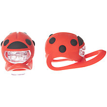 Buy Buggi Ladybird Lights 2 Pack, Red Online at johnlewis.com