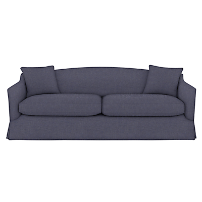 John Lewis Melrose Loose Cover Grand Sofa with Scatter Cushions