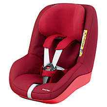 Buy Maxi-Cosi 2wayPearl i-Size Group 1 Car Seat, Robin Red 2 Online at johnlewis.com