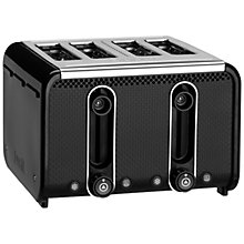 Buy Dualit Studio 4-Slice Toaster, Black Online at johnlewis.com