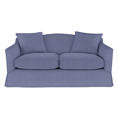 John Lewis Melrose Loose Cover Small Sofa with Scatter Cushions