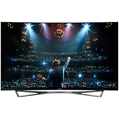 Panasonic Viera TX-65CZ952B OLED Curved 4K Ultra HD Smart TV, 65 with Freeview HD/freetime and Built-In Wi-Fi