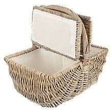 Buy John Lewis Coastal Hamper, Empty Online at johnlewis.com