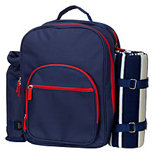 Buy John Lewis Coastal 2-Person Picnic Backpack Online at johnlewis.com