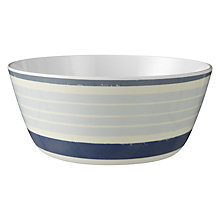 Buy John Lewis Coastal Cereal Bowl Multi Stripe Online at johnlewis.com