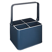 Buy John Lewis Cutlery Caddy, Nordic Blue Online at johnlewis.com