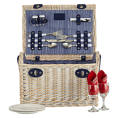 John Lewis Coastal Picnic Hamper for 2