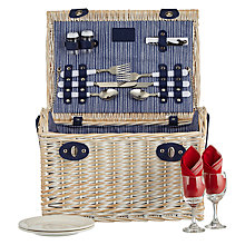 Buy John Lewis Coastal Picnic Hamper, 2 Person Online at johnlewis.com