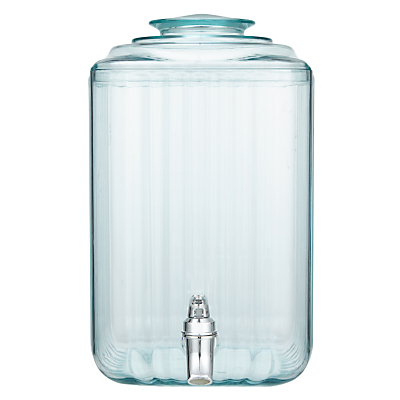 John Lewis Recycled Glass-Effect Drinks Dispenser