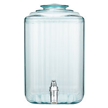 Buy John Lewis Recycled Glass-Effect Drinks Dispenser Online at johnlewis.com