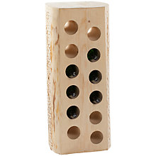 Buy The Traditional Wine Rack Company Tree Trunk Wine Rack, 12-Bottle Online at johnlewis.com
