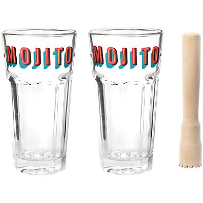 Kikkerland Cocktail Mojito Set
