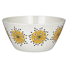Buy MissPrint Bowl, Dandelion Yellow Online at johnlewis.com