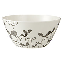 Buy MissPrint Bowl, Sapling, Monochrome Online at johnlewis.com