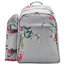 Buy Joules Filled Picnic Rucksack, 4 Person, Floral Online at johnlewis.com