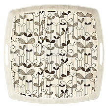 Buy MissPrint Melamine Sapling Tray, Monochrome Online at johnlewis.com