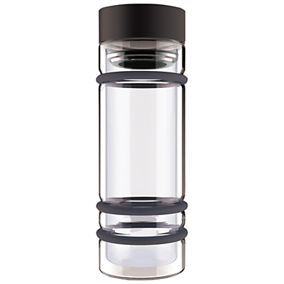 Asobu Bumper Tea Infuser Bottle, Black