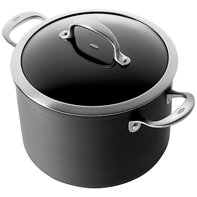 OXO Good Grips Professional Hard Anodised Stock Pot, 24cm