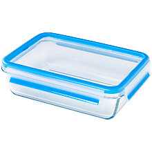 Buy Zyliss Fresh Glass Rectangle Storage, 1.3L Online at johnlewis.com