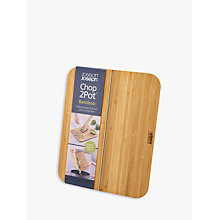 Buy Joseph Joseph Chop2pot Bamboo Chopping Board Online at johnlewis.com