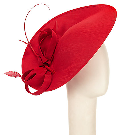 Buy John Lewis Alex Shantung Oval Disc Occasion Hat Online at johnlewis.com