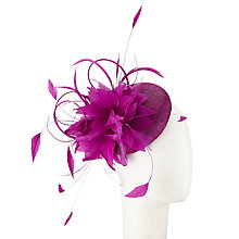 Buy John Lewis Sianne Pillbox Feather Flower Fascinator Online at johnlewis.com