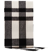 Buy Reiss Hamish Check Wool Scarf Online at johnlewis.com