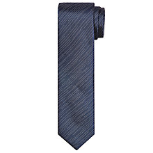 Buy Kin by John Lewis Lightning Stripe Tie, Navy Online at johnlewis.com