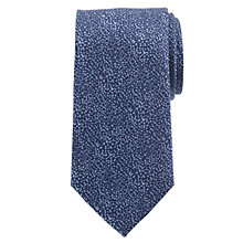 Buy Daniel Hechter Disco Random Dot Silk Tie, Blue Online at johnlewis.com