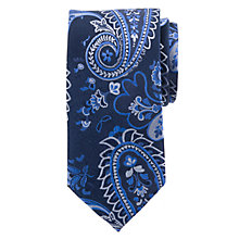 Buy John Lewis Party Mega Paisley Silk Tie Online at johnlewis.com