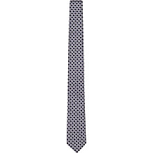 Buy Reiss Ramone Geometric Print Tie, Navy Online at johnlewis.com