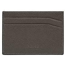Buy Reiss Adam Leather Card Holder Online at johnlewis.com