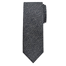 Buy Kin by John Lewis Slubby Twill Silk Tie, Navy Online at johnlewis.com