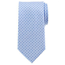 Buy Daniel Hechter Crosshatch Woven Silk Tie Online at johnlewis.com