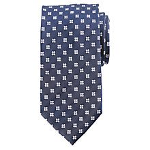 Buy Daniel Hechter Small Flower Motif Silk Tie Online at johnlewis.com