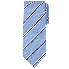 Buy John Lewis Wool Silk Stripe Tie Online at johnlewis.com