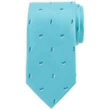 Buy John Lewis Butterfly Print Silk Tie Online at johnlewis.com