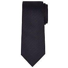 Buy Richard James Mayfair Diagonal Pillar Silk Tie, Blue Online at johnlewis.com