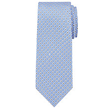 Buy Daniel Hechter Circle Dot Silk Tie, Blue Online at johnlewis.com