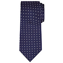Buy Richard James Mayfair Textured Dot Silk Tie Online at johnlewis.com
