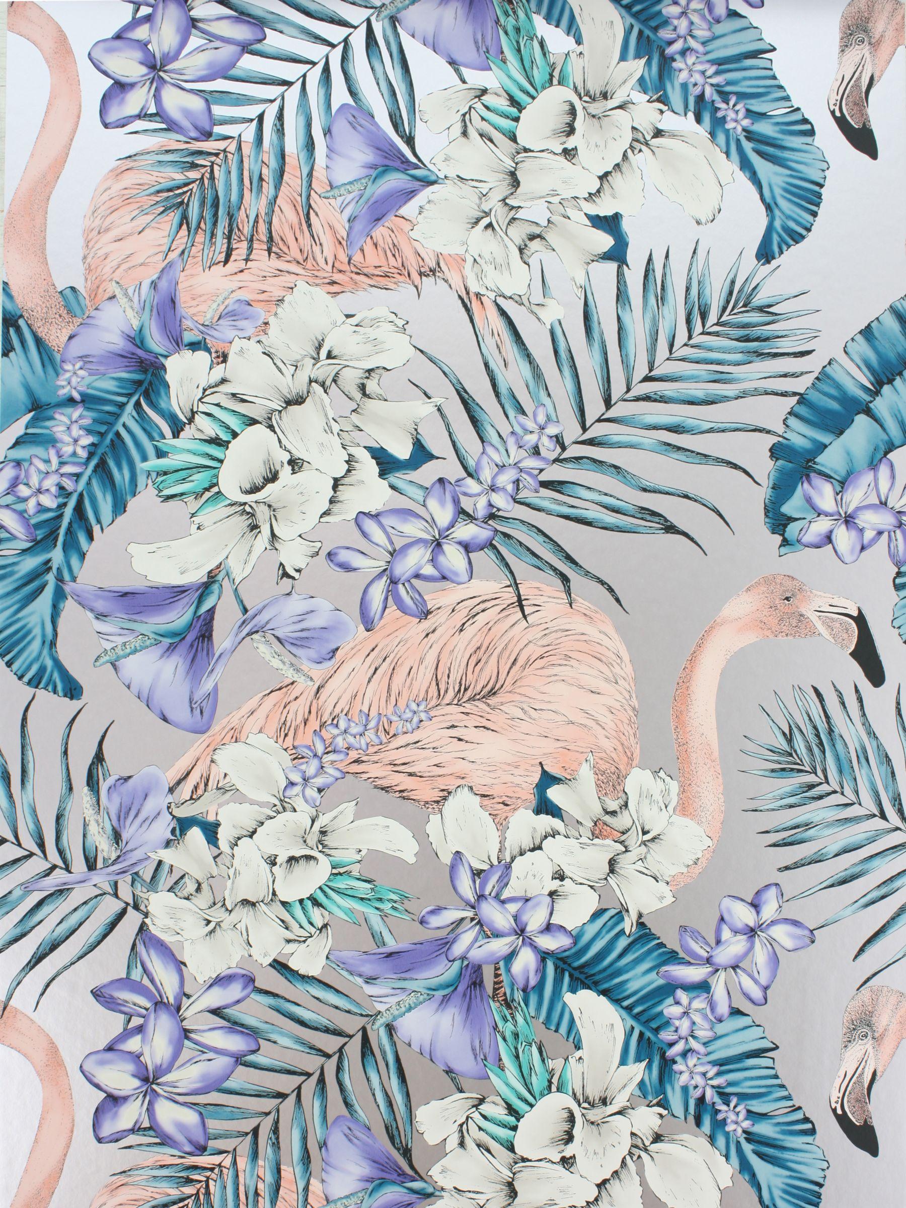 Matthew Williamson Matthew Williamson Flamingo Club Wallpaper