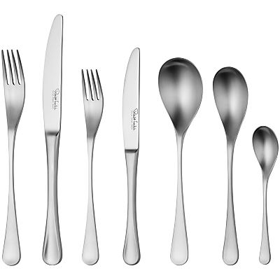Robert Welch RW2 Satin Cutlery Place Setting, 7 Piece