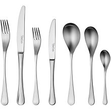 Buy Robert Welch RW2 Satin Cutlery Place Setting, 7 Piece Online at johnlewis.com