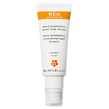 Buy REN Wake Wonderful Night-Time Facial, 40ml Online at johnlewis.com