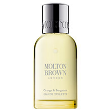 Buy Molton Brown Orange & Bergamot Eau de Toilette, 50ml Online at johnlewis.com