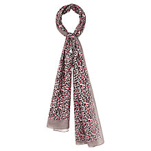 Buy Viyella Abstract Heart Scarf, Grey Online at johnlewis.com