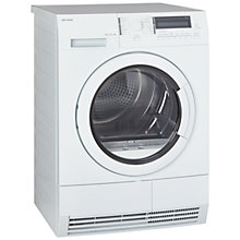 Buy John Lewis JLTDH20 Heat Pump Condenser Tumble Dryer, 8kg Load, A+ Energy Rating, White Online at johnlewis.com